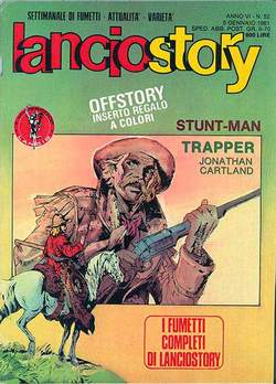 Copertina LANCIOSTORY ANNO 06 n.52 - LANCIOSTORY 1980   52, EDITORIALE AUREA