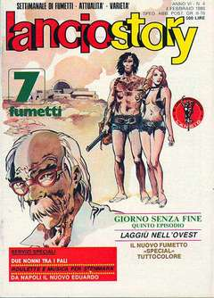 Copertina LANCIOSTORY ANNO 06 n.4 - LANCIOSTORY 1980    4, EDITORIALE AUREA