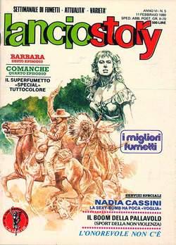 Copertina LANCIOSTORY ANNO 06 n.5 - LANCIOSTORY 1980    5, EDITORIALE AUREA