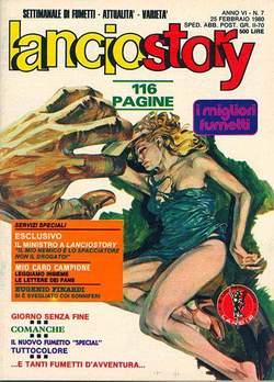 Copertina LANCIOSTORY ANNO 06 n.7 - LANCIOSTORY 1980    7, EDITORIALE AUREA