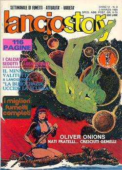 Copertina LANCIOSTORY ANNO 06 n.8 - LANCIOSTORY 1980    8, EDITORIALE AUREA