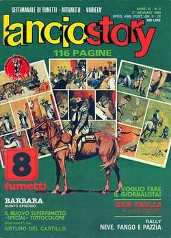 Copertina LANCIOSTORY ANNO 06 n.2 - LANCIOSTORY 1980    2, EDITORIALE AUREA