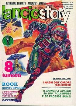 Copertina LANCIOSTORY ANNO 06 n.3 - LANCIOSTORY 1980    3, EDITORIALE AUREA