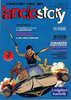 Copertina LANCIOSTORY ANNO 06 n.6 - LANCIOSTORY 1980    6, EDITORIALE AUREA