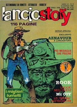 Copertina LANCIOSTORY ANNO 06 n.9 - LANCIOSTORY 1980    9, EDITORIALE AUREA