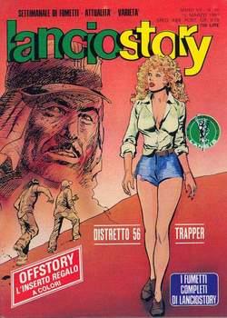 Copertina LANCIOSTORY ANNO 07 n.10 - LANCIOSTORY 1981   10, EDITORIALE AUREA