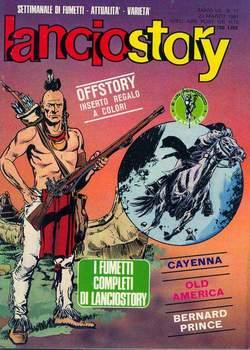 Copertina LANCIOSTORY ANNO 07 n.11 - LANCIOSTORY 1981   11, EDITORIALE AUREA