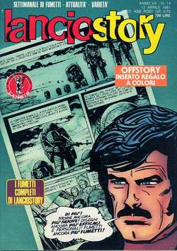 Copertina LANCIOSTORY ANNO 07 n.14 - LANCIOSTORY 1981   14, EDITORIALE AUREA