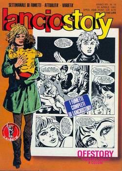 Copertina LANCIOSTORY ANNO 07 n.15 - LANCIOSTORY 1981   15, EDITORIALE AUREA