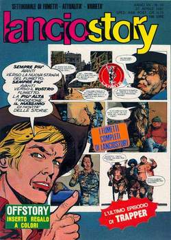 Copertina LANCIOSTORY ANNO 07 n.16 - LANCIOSTORY 1981   16, EDITORIALE AUREA