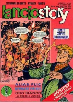 Copertina LANCIOSTORY ANNO 07 n.18 - LANCIOSTORY 1981   18, EDITORIALE AUREA