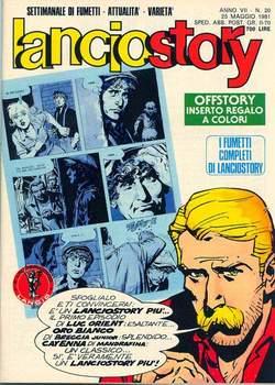 Copertina LANCIOSTORY ANNO 07 n.20 - LANCIOSTORY 1981   20, EDITORIALE AUREA