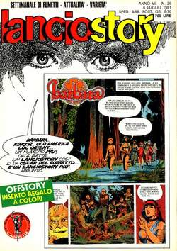 Copertina LANCIOSTORY ANNO 07 n.26 - LANCIOSTORY 1981   26, EDITORIALE AUREA