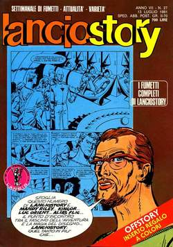 Copertina LANCIOSTORY ANNO 07 n.27 - LANCIOSTORY 1981   27, EDITORIALE AUREA