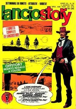 Copertina LANCIOSTORY ANNO 07 n.30 - LANCIOSTORY 1981   30, EDITORIALE AUREA