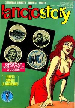 Copertina LANCIOSTORY ANNO 07 n.31 - LANCIOSTORY 1981   31, EDITORIALE AUREA