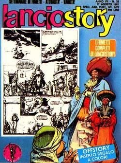 Copertina LANCIOSTORY ANNO 07 n.32 - LANCIOSTORY 1981   32, EDITORIALE AUREA