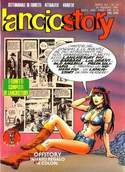 Copertina LANCIOSTORY ANNO 07 n.33 - LANCIOSTORY 1981   33, EDITORIALE AUREA