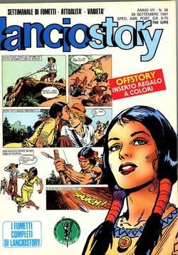 Copertina LANCIOSTORY ANNO 07 n.38 - LANCIOSTORY 1981   38, EDITORIALE AUREA
