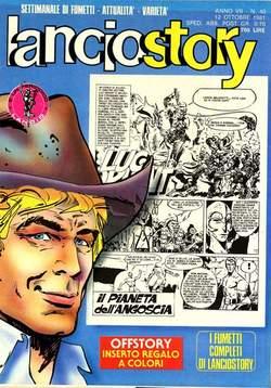 Copertina LANCIOSTORY ANNO 07 n.40 - LANCIOSTORY 1981   40, EDITORIALE AUREA