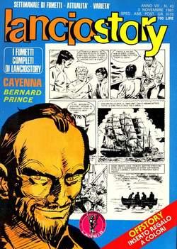 Copertina LANCIOSTORY ANNO 07 n.43 - LANCIOSTORY 1981   43, EDITORIALE AUREA