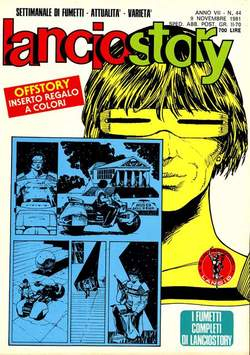 Copertina LANCIOSTORY ANNO 07 n.44 - LANCIOSTORY 1981   44, EDITORIALE AUREA