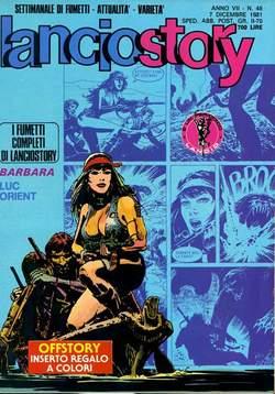Copertina LANCIOSTORY ANNO 07 n.48 - LANCIOSTORY 1981   48, EDITORIALE AUREA
