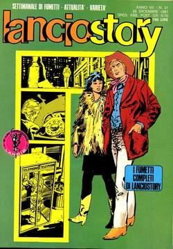 Copertina LANCIOSTORY ANNO 07 n.51 - LANCIOSTORY 1981   51, EDITORIALE AUREA