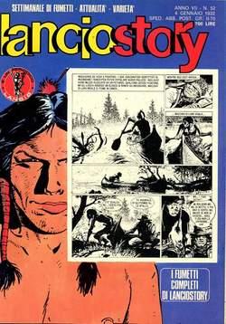 Copertina LANCIOSTORY ANNO 07 n.52 - LANCIOSTORY 1981   52, EDITORIALE AUREA