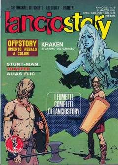 Copertina LANCIOSTORY ANNO 07 n.9 - LANCIOSTORY 1981    9, EDITORIALE AUREA