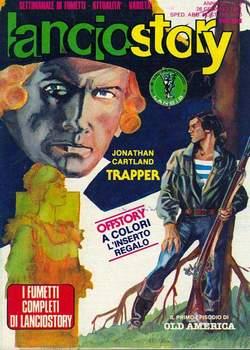 Copertina LANCIOSTORY ANNO 07 n.3 - LANCIOSTORY 1981    3, EDITORIALE AUREA
