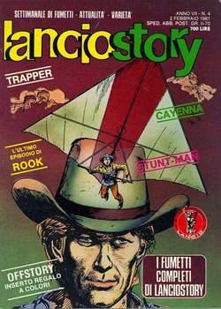 Copertina LANCIOSTORY ANNO 07 n.4 - LANCIOSTORY 1981    4, EDITORIALE AUREA