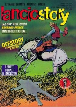 Copertina LANCIOSTORY ANNO 07 n.6 - LANCIOSTORY 1981    6, EDITORIALE AUREA
