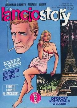 Copertina LANCIOSTORY ANNO 07 n.7 - LANCIOSTORY 1981    7, EDITORIALE AUREA