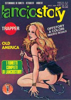 Copertina LANCIOSTORY ANNO 07 n.8 - LANCIOSTORY 1981    8, EDITORIALE AUREA