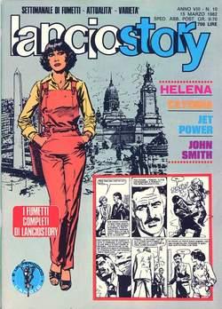 Copertina LANCIOSTORY ANNO 08 n.10 - LANCIOSTORY 1982   10, EDITORIALE AUREA
