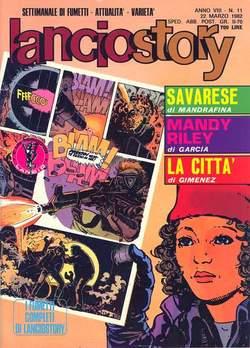Copertina LANCIOSTORY ANNO 08 n.11 - LANCIOSTORY 1982   11, EDITORIALE AUREA