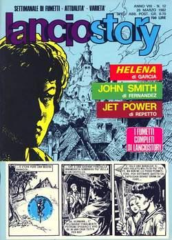 Copertina LANCIOSTORY ANNO 08 n.12 - LANCIOSTORY 1982   12, EDITORIALE AUREA