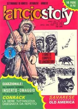 Copertina LANCIOSTORY ANNO 08 n.13 - LANCIOSTORY 1982   13, EDITORIALE AUREA