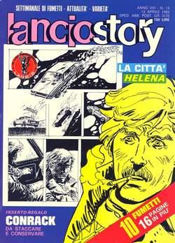 Copertina LANCIOSTORY ANNO 08 n.14 - LANCIOSTORY 1982   14, EDITORIALE AUREA