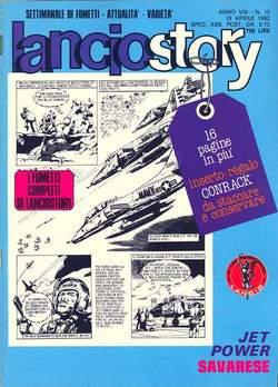 Copertina LANCIOSTORY ANNO 08 n.15 - LANCIOSTORY 1982   15, EDITORIALE AUREA