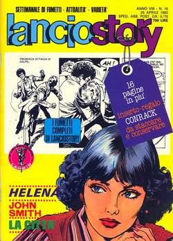 Copertina LANCIOSTORY ANNO 08 n.16 - LANCIOSTORY 1982   16, EDITORIALE AUREA