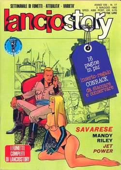 Copertina LANCIOSTORY ANNO 08 n.17 - LANCIOSTORY 1982   17, EDITORIALE AUREA