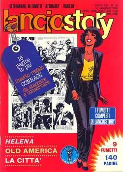 Copertina LANCIOSTORY ANNO 08 n.18 - LANCIOSTORY 1982   18, EDITORIALE AUREA