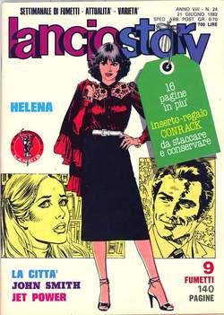 Copertina LANCIOSTORY ANNO 08 n.24 - LANCIOSTORY 1982   24, EDITORIALE AUREA