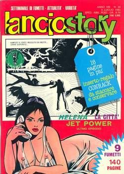 Copertina LANCIOSTORY ANNO 08 n.26 - LANCIOSTORY 1982   26, EDITORIALE AUREA