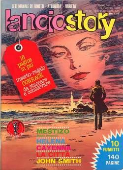 Copertina LANCIOSTORY ANNO 08 n.28 - LANCIOSTORY 1982   28, EDITORIALE AUREA
