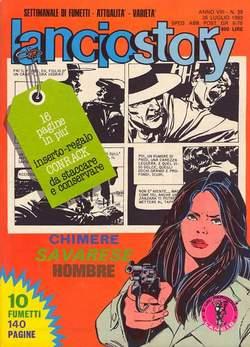 Copertina LANCIOSTORY ANNO 08 n.29 - LANCIOSTORY 1982   29, EDITORIALE AUREA