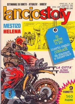 Copertina LANCIOSTORY ANNO 08 n.30 - LANCIOSTORY 1982   30, EDITORIALE AUREA