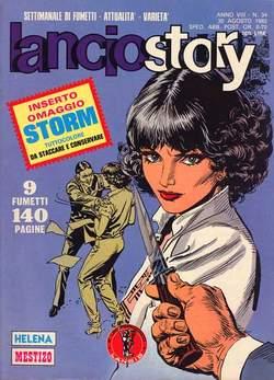 Copertina LANCIOSTORY ANNO 08 n.34 - LANCIOSTORY 1982   34, EDITORIALE AUREA